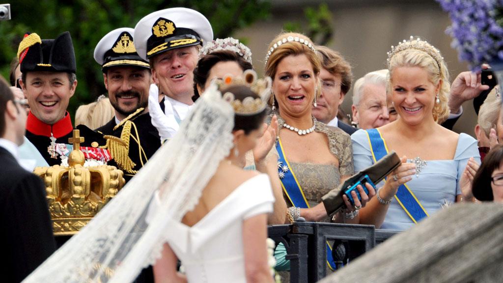 Haakon, Willem-Alexander, Maxima og Mette-Marit