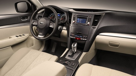 Også innvendig er Subaru Outback  betydelig oppgradert.