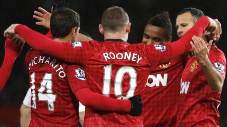 RIKEST: Manchester United er   den mest verdifulle klubben i verden. (Foto: Scanpix)