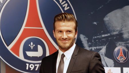 David Beckham har ankommet Paris (Foto: PHILIPPE WOJAZER, ©JS/)