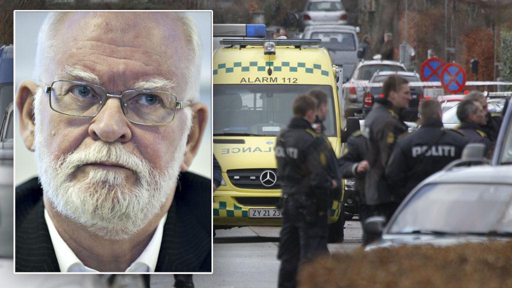 ATTENTATFORSØK: Den kjente danske islamkritikeren Lars Hedegaard ble tirsdag formiddag utsatt for et attentatforsøk utenfor sitt hjem i København. (Foto: AP / NTB Scanpix)