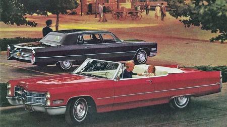 De amerikanske luksusmerkene var tidlig ute med veldig mye slikt utstyr. Cadillac leverte elektrisk oppvarmede seter fra 1966, kun foran på convertible-utgaven og de øvrige