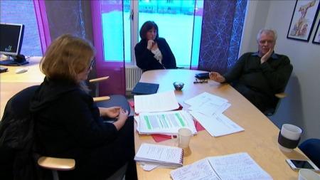 Ledelsen ved Sykehuset Innlandet, avdeling for Psykisk helse,   forsikrer TV 2 om at de tar tallene fra Reseptregistert på alvor. (Foto:   Olav T. Hustad Wold)