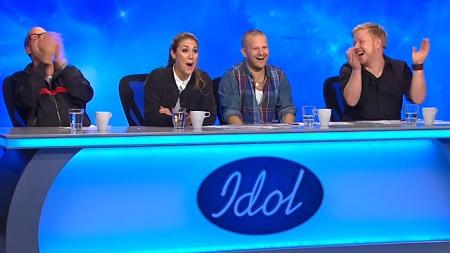 Idol-dommerne (Foto: TV 2)