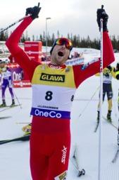 VANT SESONGÅPNINGEN: Magnus Moan vant begge løpene under verdenscupåpningen på Lillehammer. (Foto: Solum, Stian Lysberg)