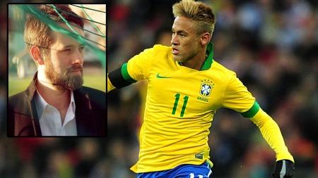 USIKKER: Lars Sivertsen er usikker på om Neymar blir så god som mange vil ha det til.