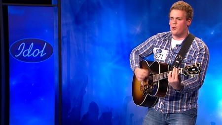 Steffen Jakobsen i Idol (Foto: TV 2)