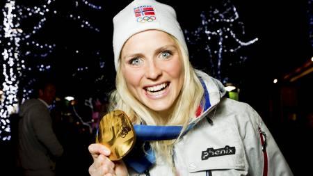 BLIR DET NYE GULL I SOTSJI?: Christian Paasche kommenterer når Marit Bjørgen går langrenn i OL om ett år. (Foto: Junge, Heiko/NTB scanpix)