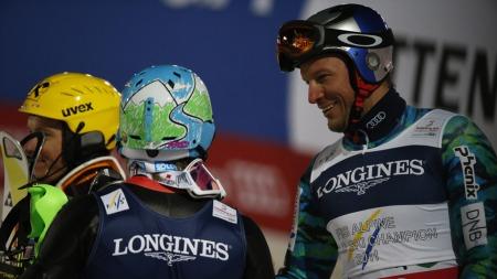 GULLET GLAPP: Aksel Lund Svindal kjørte ut og gikk med det glipp av sin tredje medalje i VM i Schladming. (Foto: Poppe, Cornelius)