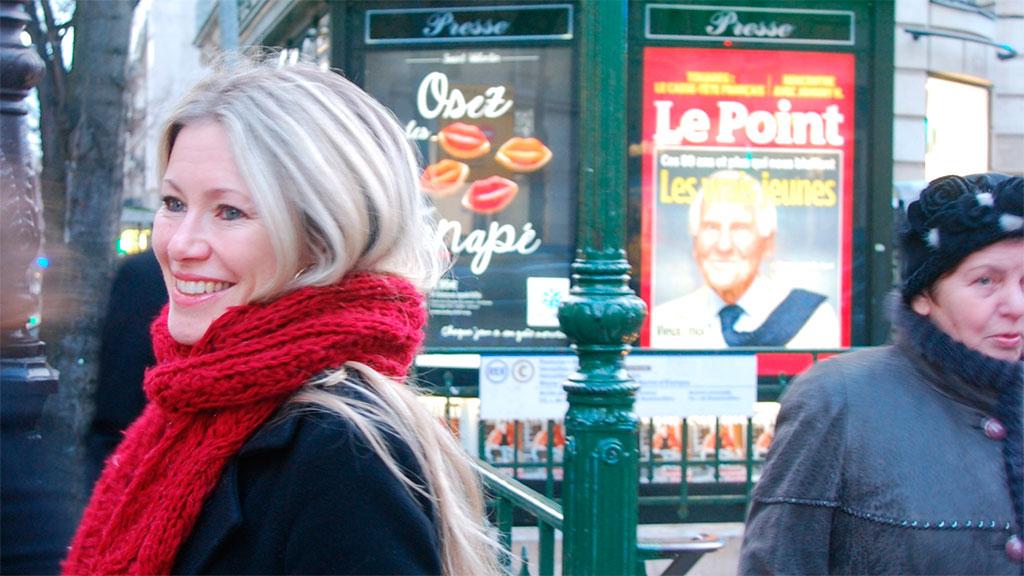 Siri Kalvik og familien har flyttet til Paris. (Foto: Sophia Mc Gill Stray)