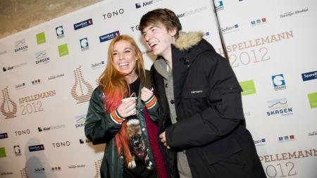 Gabrielle og Lido Lido er begge nominert i kategorien Årets nykommer. Lido Lido er også nominert i pop-kategorien i årets spellemann.  (Foto: Fredrik Varfjell)