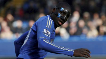Demba Ba i aksjon mot Brentford. (Foto: EDDIE KEOGH/Reuters)