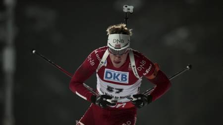 20-KILOMETER: Tarjei Bø i aksjon under VM i Nove Mesto. (Foto: Solum, Stian Lysberg/NTB scanpix)