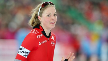 GODT VM: Ida Njåtun må se seg fornøyd med innsatsen under helgens VM-allround på Hamar.  (Foto: Scanpix)