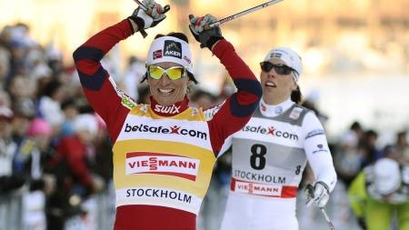 BLIR HUN VM-DRONNINGEN?: Marit Bjørgen jakter gull i Val di Fiemme. (Foto: CLAUDIO BRESCIANI, ©pg pak)