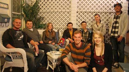 Turner og vennene