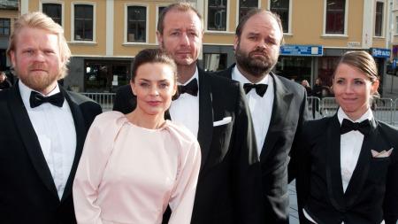 Anders Baasmo Christiansen, Agnes Kittelsen, Atle Antonsen og Tuva Novotny (Foto: Tommy Arnesen)