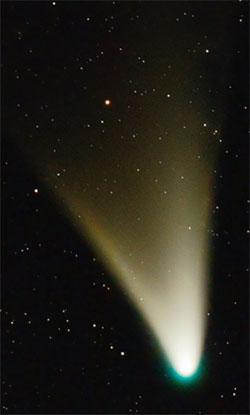 Kometen C/2011 L4 Pan-Starr fotografert fra Buenos Aires i Argentina 16. februar. (Foto: Ignacio Diaz Bobillo)
