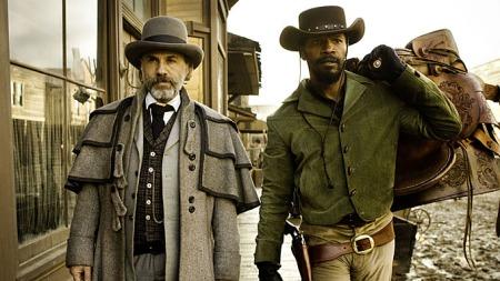 Christoph Waltz (t.v) vant sin andre Oscar for rollen som Schultz i «Django Unchained» (Foto: Andrew Cooper SMPSP )
