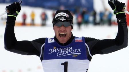 RÅSTERK: Dario Cologna vant lørdagens skiathlon i VM i Val di Fiemme. (Foto: Pierre Teyssot, ©PTY/RC)