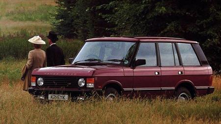 Range Rover - alle luksus SUV-enes far og bilen som gjorde at godtfolk kunne tas seg over åker og eng på en komfortabel måte