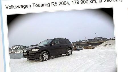 VW-Touareg (Foto: Faksimile fra finn.no)