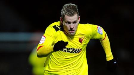 Matej Vydra er Watfords toppscorer denne sesongen (Foto: Scanpix)