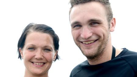 Solfrid og Sveinung i The Amazing Race Norge (Foto: Sandra Mei Ling Noer/TV 2)
