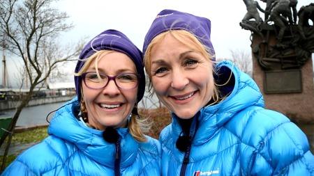Wenche og Eva i The Amazing Race Norge (Foto: Sandra Mei Ling Noer/TV 2)