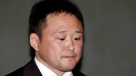 Sjef for de japanske judokvinnene, Ryuji Sonoda. (Foto: Shizuo Kambayashi/Ap)