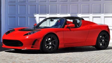 Tesla Roadster.