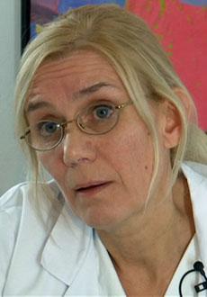 NEGATIV: Seksjonsoverlege Elin Tollefsen mener Freddy ikke forstår hva et liv med respirator innebærer. (Foto: TV 2)
