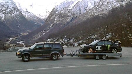 En Ford Explorer med tvilsom automatkasse og diverse andre