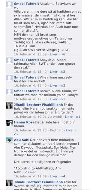 Facebook Profetens Ummah