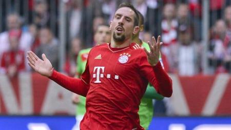 Franck Ribery (Foto: GUENTER SCHIFFMANN, ©GS ej)