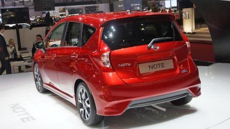 Nissan Note bakfra