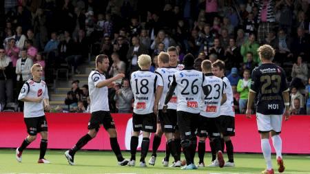 POSITIV TREND: Sogndal er blant de få klubbene som har skryte av publikumsøkning i Tippeligaen. (Foto: Snæland, Alf Vidar/NTB scanpix)