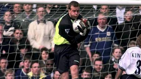 PL-KEEPER: Thomas Myhre i mål for Everton. (Foto: Rakke, Morten/NTB   scanpix)