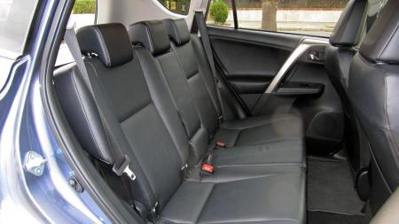 Toyota-RAV4-baksete (Foto: Benny Christensen)