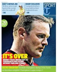 Faksimile fra The Telegraph.