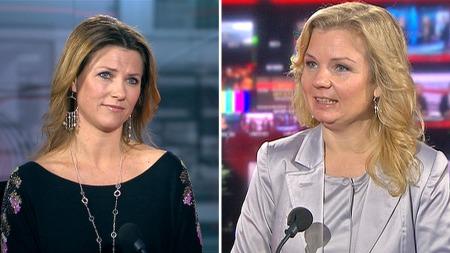 MER STØY: Elisabeth Nordeng er åpen på at det har blitt mer stormer og kritikk fordi hun har samarbeidet med prinsesse Märtha Louise. (Foto: TV 2)