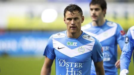 UTE: Tommy Høiland og Sandnes røk ut mot Flekkerøy i cupen. (Foto: Ekornesvåg, Svein Ove/NTB scanpix)