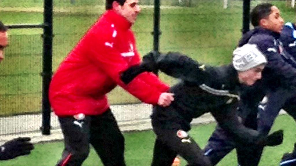 Trener med Feyenoord