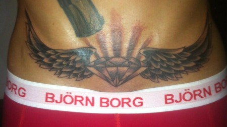 Her er Nicki Bille Nielsens nyeste tatovering. (Foto: NICKI BILL ENIELSEN.)