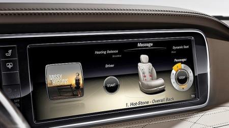 Mercedes S-klasse instrumenter