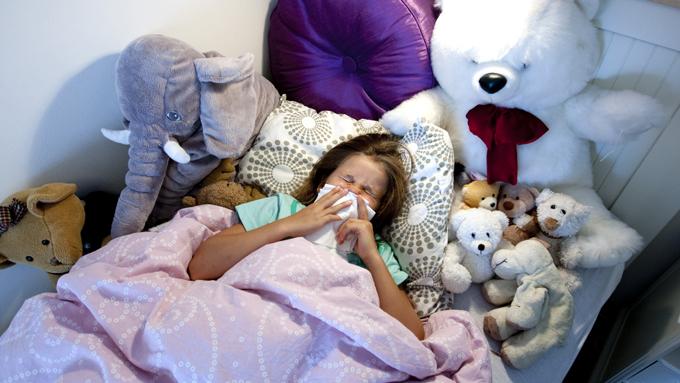 sykedager barn