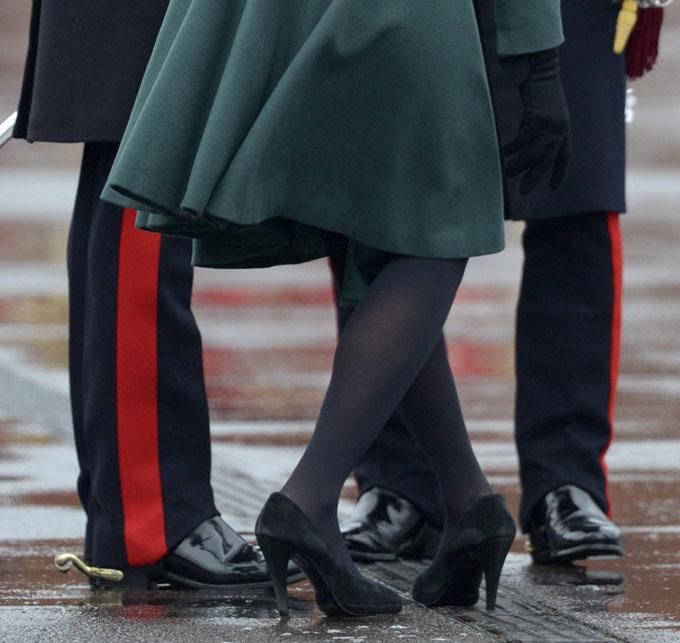 Skoen var ikke til å rikke! (Foto: SCANPIX)