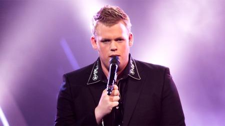 Steffen Jakobsen i tredje finalerunde (Foto: Thomas Reisæter/TV 2)