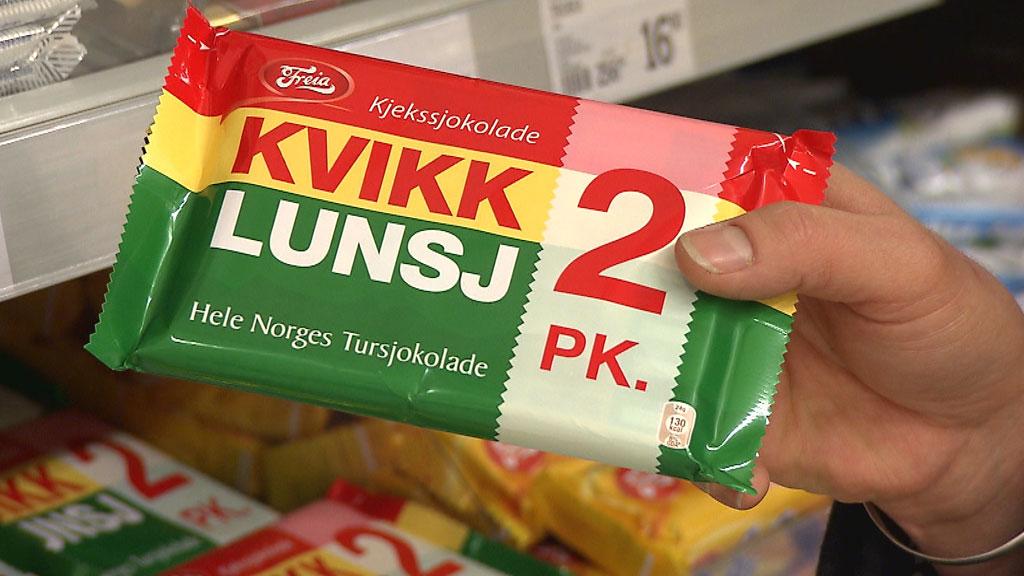 Norges tursjokolade nummer en inneholder miljø- og helseskadelig palmeolje. (Foto: TV 2 hjelper deg)