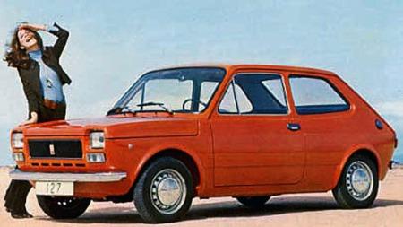 Fiat 127 var en kjempesuksess og ble kåret til Årets bil i 1972